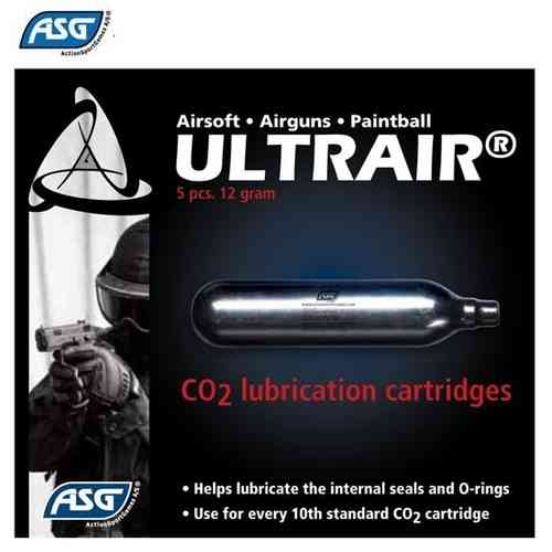ASG - CO2  Lubrification Cartridges Box with 5pcs