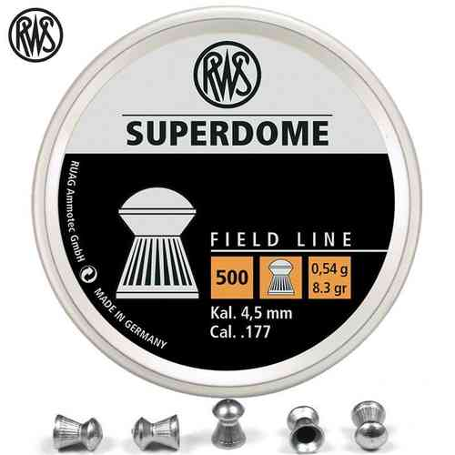 RWS SuperDome 4.5mm 0,54 g - box 500pcs