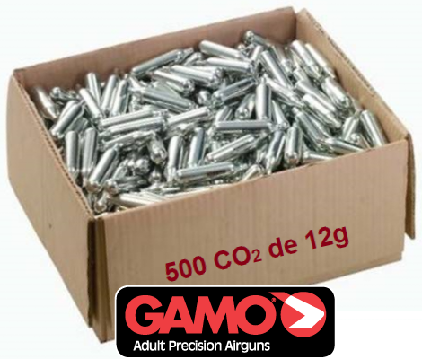CO2 cylinders 12 grams pack box 500pcs