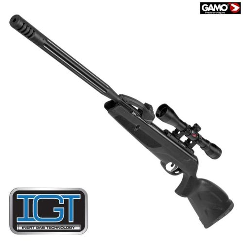 Gamo Replay 10 Maxxim IGT 23,9 Joule -with riflescope 4x32mmwr - with magazine 10 pellets .177cal