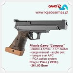 Gamo Compact PCA airgun Right hand