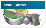 H N - Excite Hammer 5,5mm caixa com 250 chumbos