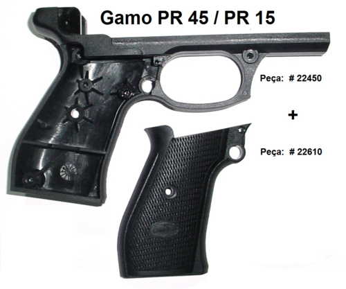 Gamo-Frame/Body PR45 and PR15 PCA pistol