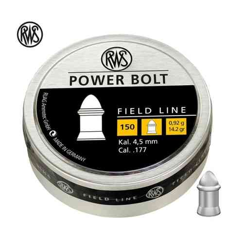 RWS Power Bolt .177in 14,2 gr box 150pcs