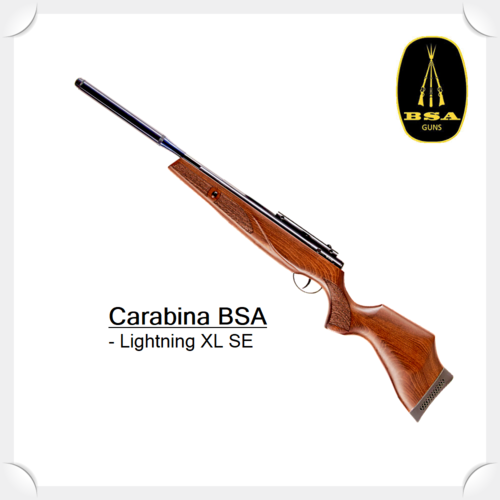 "BSA LIGHTNING XL SE .177"" / 4,5MM Spring Airgun"