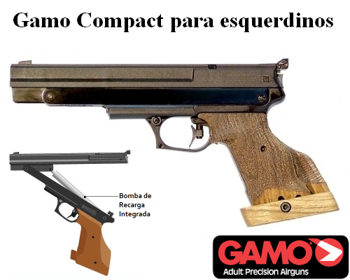 Gamo Compact PCA airgun - left hand