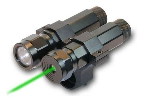 BSA Green LASER + Flashlight Xenon LLSG