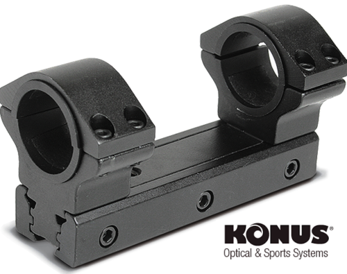 Ring Mounts Konus Rail Médium 7237 Universal ( base 9/11 & 20/22mm ) - Tube 26 & 30mm