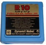 Pellets RWS R10 Carbine 100unit  4,48mm - 0,50g