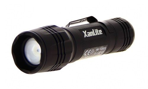 XanLite Flashlight Tactical 300 Lumen Hi-Power LEDs