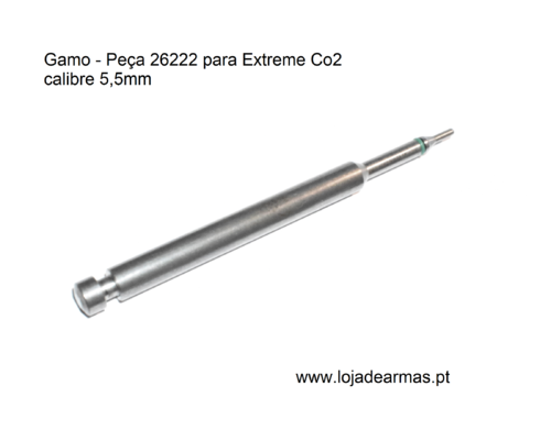 Gamo - peça 26222 para Extreme CO2 de 5,5mm - Grupo Vedante de CO2 do Cano