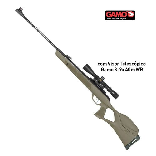 Gamo G-Magnun JUNGLE Combo - with riflescope 3-9x 40mm - 23,9 Joule .22cal
