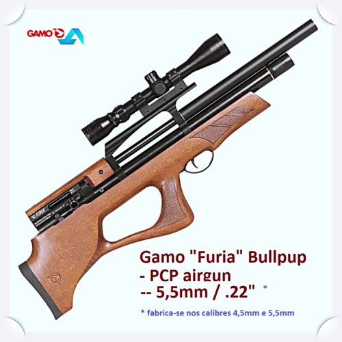 Gamo Furia Bullpup PCP  .22in multishot 5,5mm