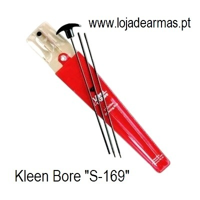 Kleen Bore - Kit Varetas + Escovilhão 4,5mm / .177 / .17 - s169 | s-169 | s 169