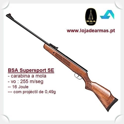 "BSA Supersport .177"" / 4,5MM Spring Airgun"