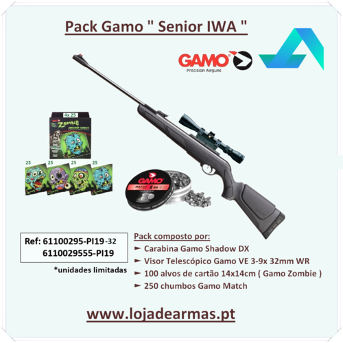 Gamo Shadow DX Combo 3-9x 32mm WR - cal- 4,5mm