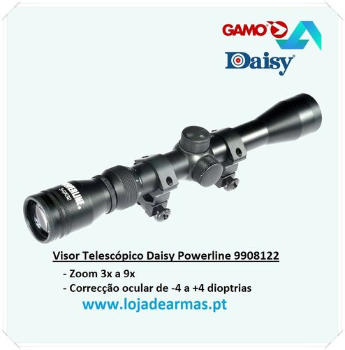 Mira-Telescopica Gamo-Daisy Powerline 3-9x32-mm-WR ( zoom 3 a 9 aumentos )