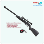 Gamo Black 1000 Maxxim 23 Joule - .177cal Combo BSA MD 3,5-10x 50mm WR