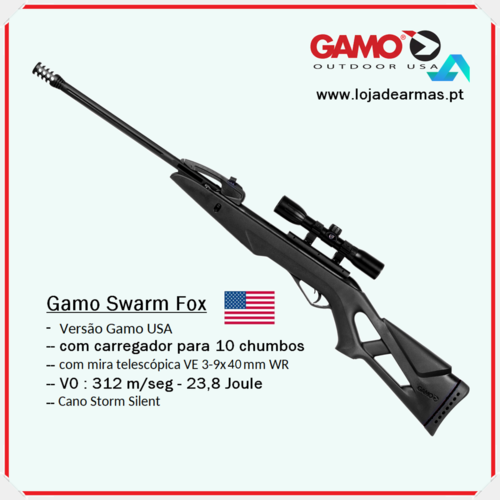 "Gamo Swarm Fox Replay-3-9x40mm .177"" / 4,5mm"