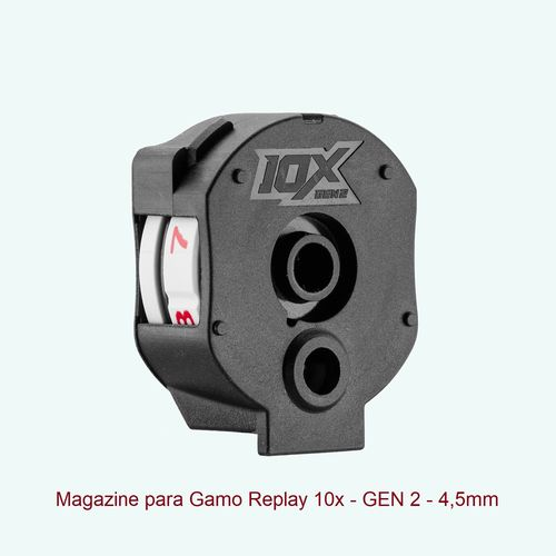 Gamo magazine Autoloader for Maxxim Replay 10x GEN2 - .177 / 4,5mm - 10 pellets .177in