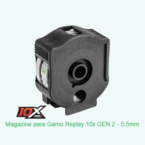 Gamo magazine Autoloader for Maxxim Replay 10x GEN2 - .22 / 5,5mm - 10 pellets .177in