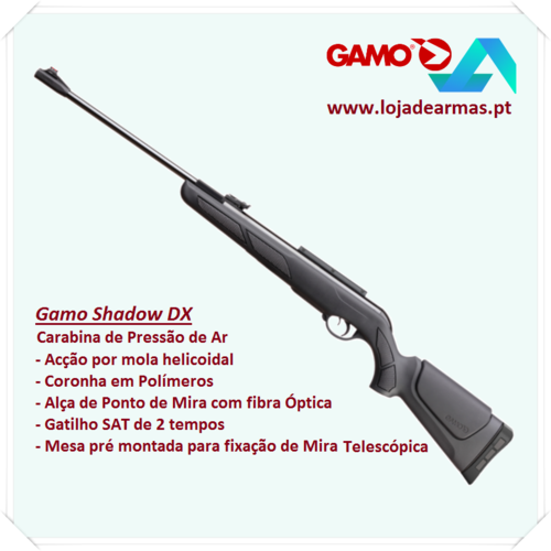 Gamo Shadow DX .177in Spring airgun 23 Joule