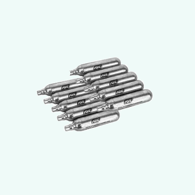 CO2 cylinders 12 grams pack 10 cylinders ASG