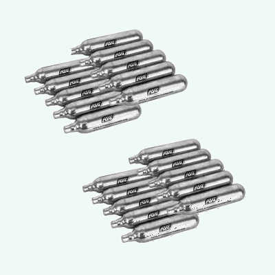 CO2 cylinders 12 grams pack 20 cylinders ASG